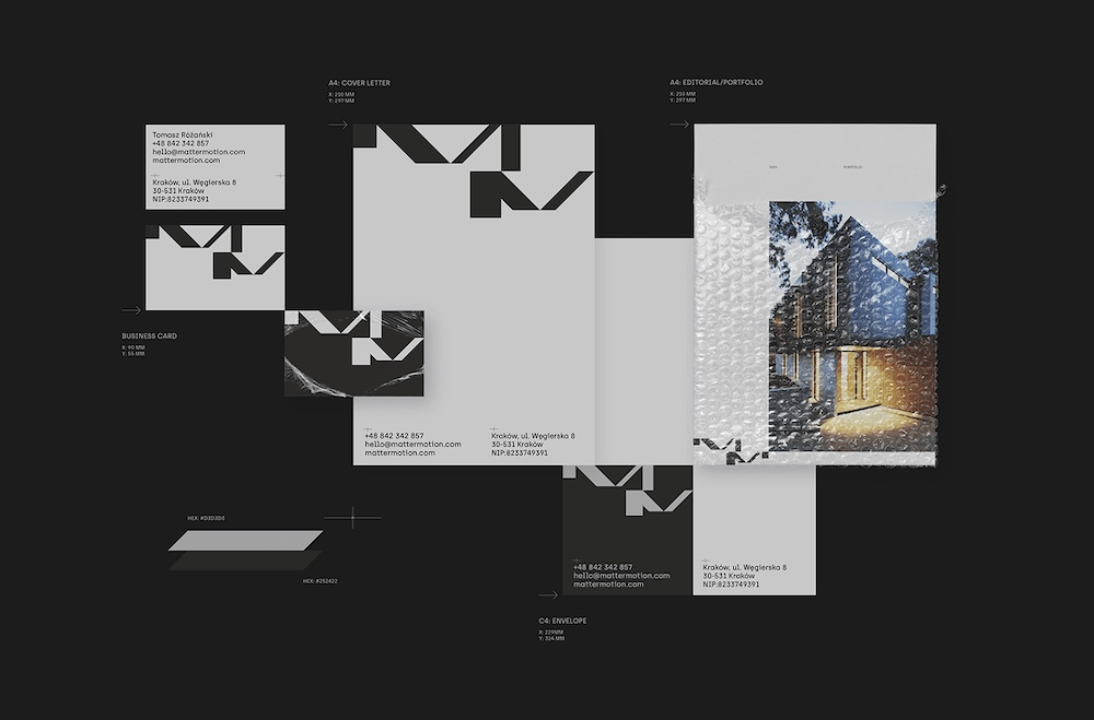 Matter Motion Architectural Visualization Studio, R Y B A ®