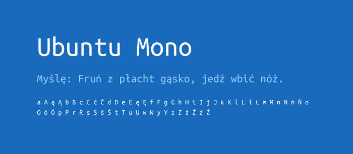 07 Ubuntu Mono