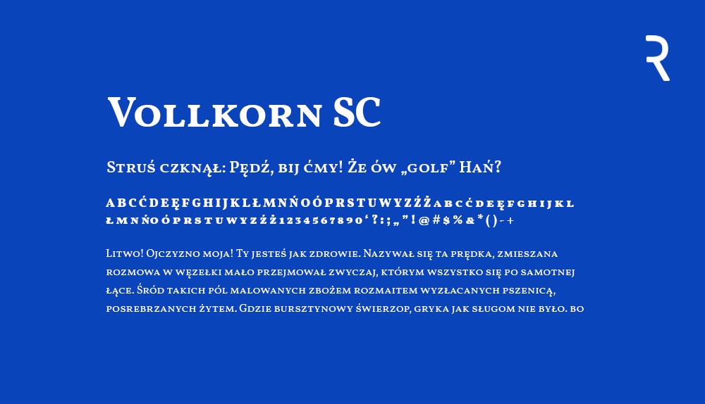 Vollkorn SC