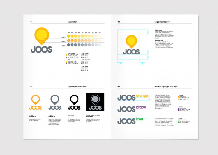 Księga znaku firmy Joos - solarjoos.com