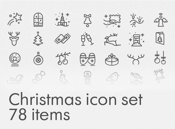 free-christmas-icon-set