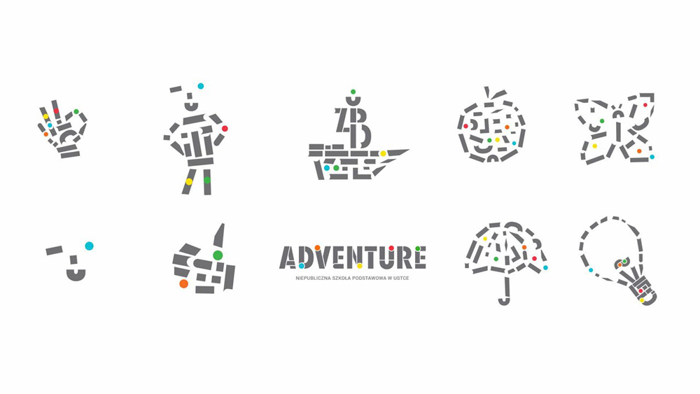 Projekty graficzne dla szkoły Adventure autorstwa Rio Creativo