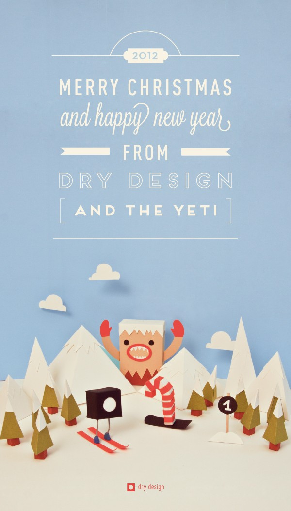 Christmas with the Yeti © Dry Design