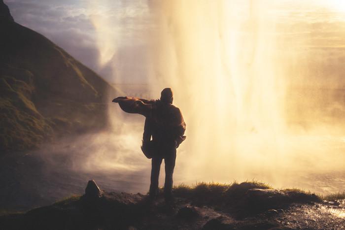 Cascade-en-Islande