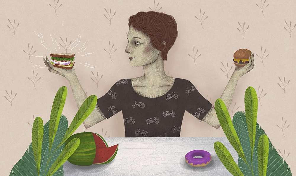 Press illustrations #7, Agnieszka Sozańska