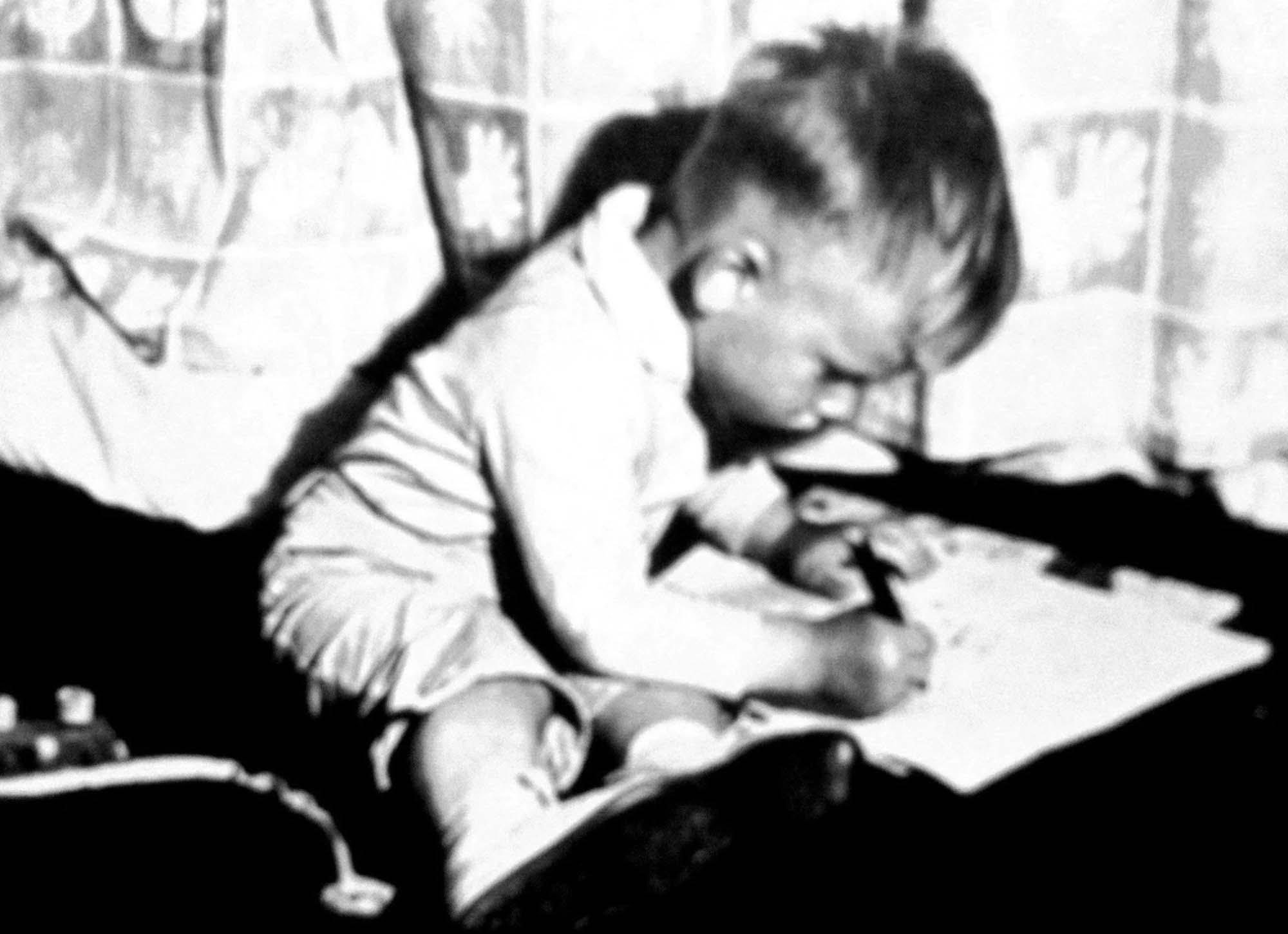 "Dwuletni Tomek i ""kubuś""."