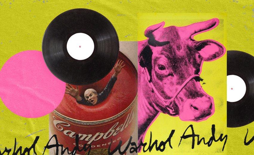 Okładka artykułu 5 okładek płytowych Andy'ego Warhola — Inspirująca podróż po świecie artysty