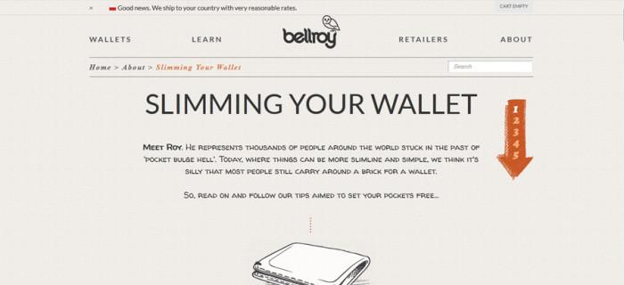 Strona główna au.bellroy.com