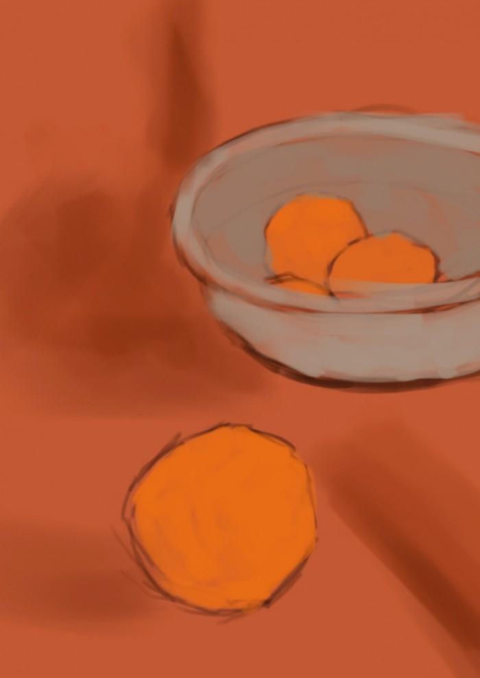 03 Martwa natura, czyli jak malowac pomarancze, szkic