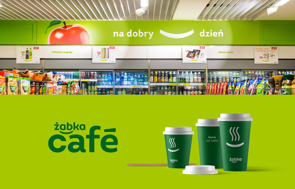 Nowe logo Żabki - rebranding marki