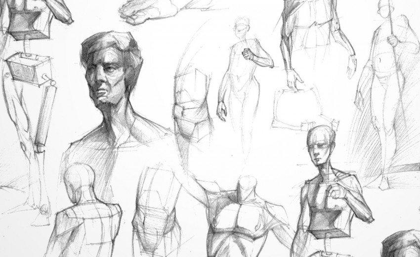 Okładka artykułu Jak narysować człowieka? — Podstawowe zasady szkicowania postaci