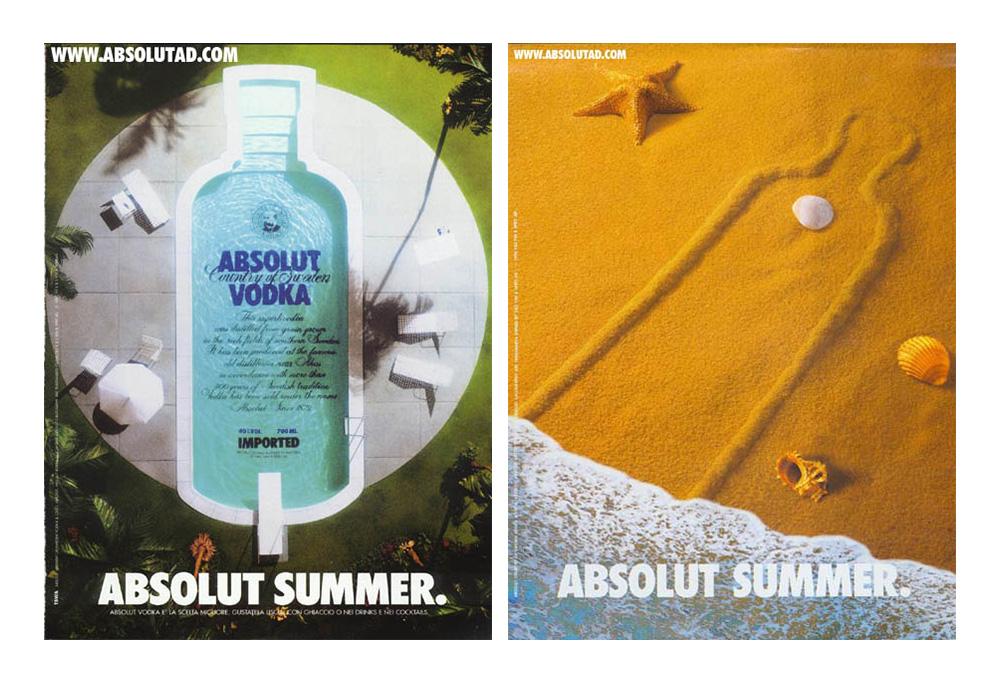Historia kampanii reklamowej wódki Absolut