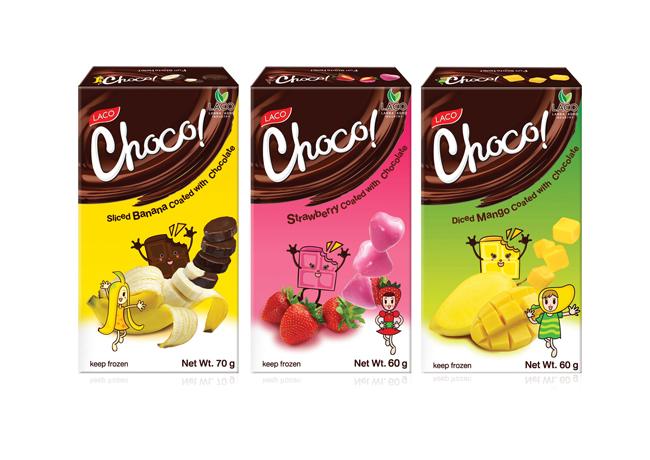 21 Opakowanie deserow Laco Choco