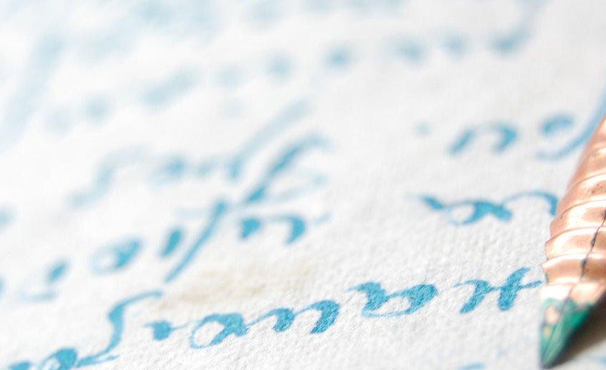 Okładka artykułu Kaligrafii dobre początki — Jak zacząć pięknie pisać?