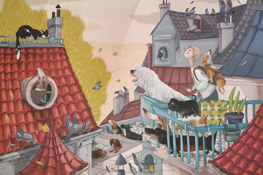 Opowiem ci, mamo, co robią psy, Nasza Księgarnia, Paulina Wyrt