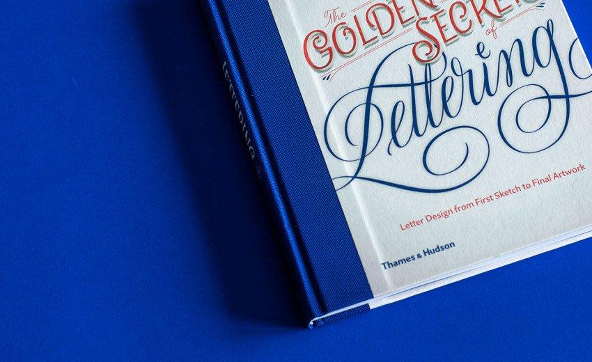 """Okładka artykułu """"The Golden Secrets of Lettering"""" — Recenzja książki Martiny Flor"""