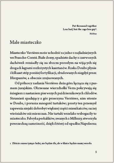 Ryc. 4. Motto przed tekstem zasadniczym rozdziału umieszczone przed jego tytułem