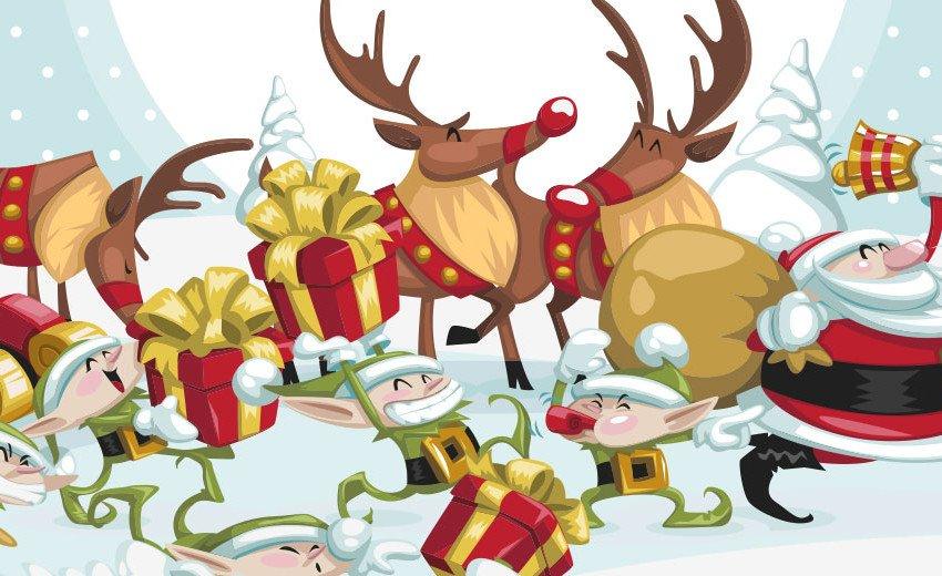 Okładka artykułu Boże Narodzenie już niedługo — Darmowe materiały do świątecznych projektów