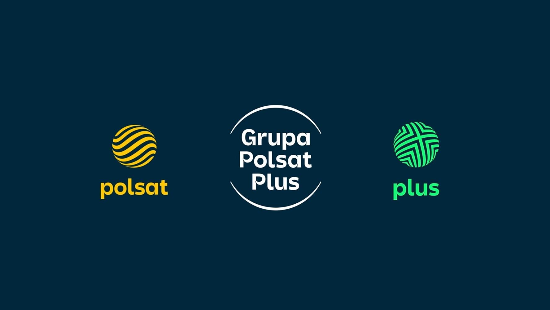 Nowe logo Polsat i Plus