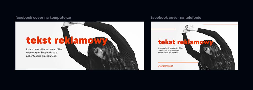 Facebook cover photo Projektowanie pod rozdzielczość mobilną