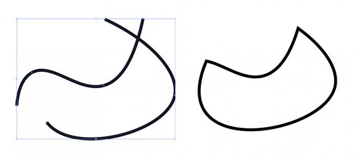 Narzędzie-połączenie-illustrator