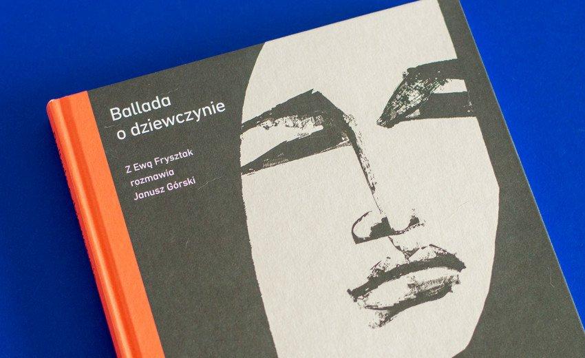 """Okładka artykułu Janusz Górski w rozmowie z Ewą Frysztak — """"Ballada o dziewczynie"""" – recenzja"""