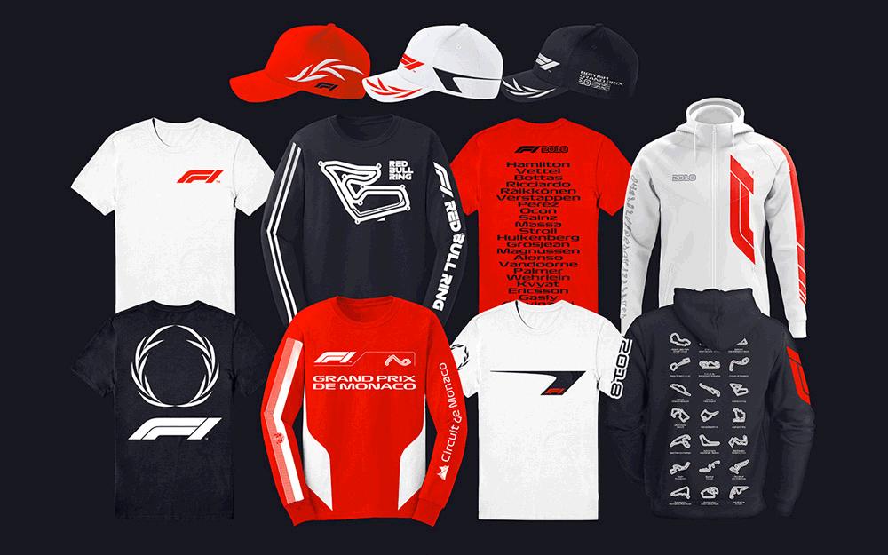 Rebranding F1 2017