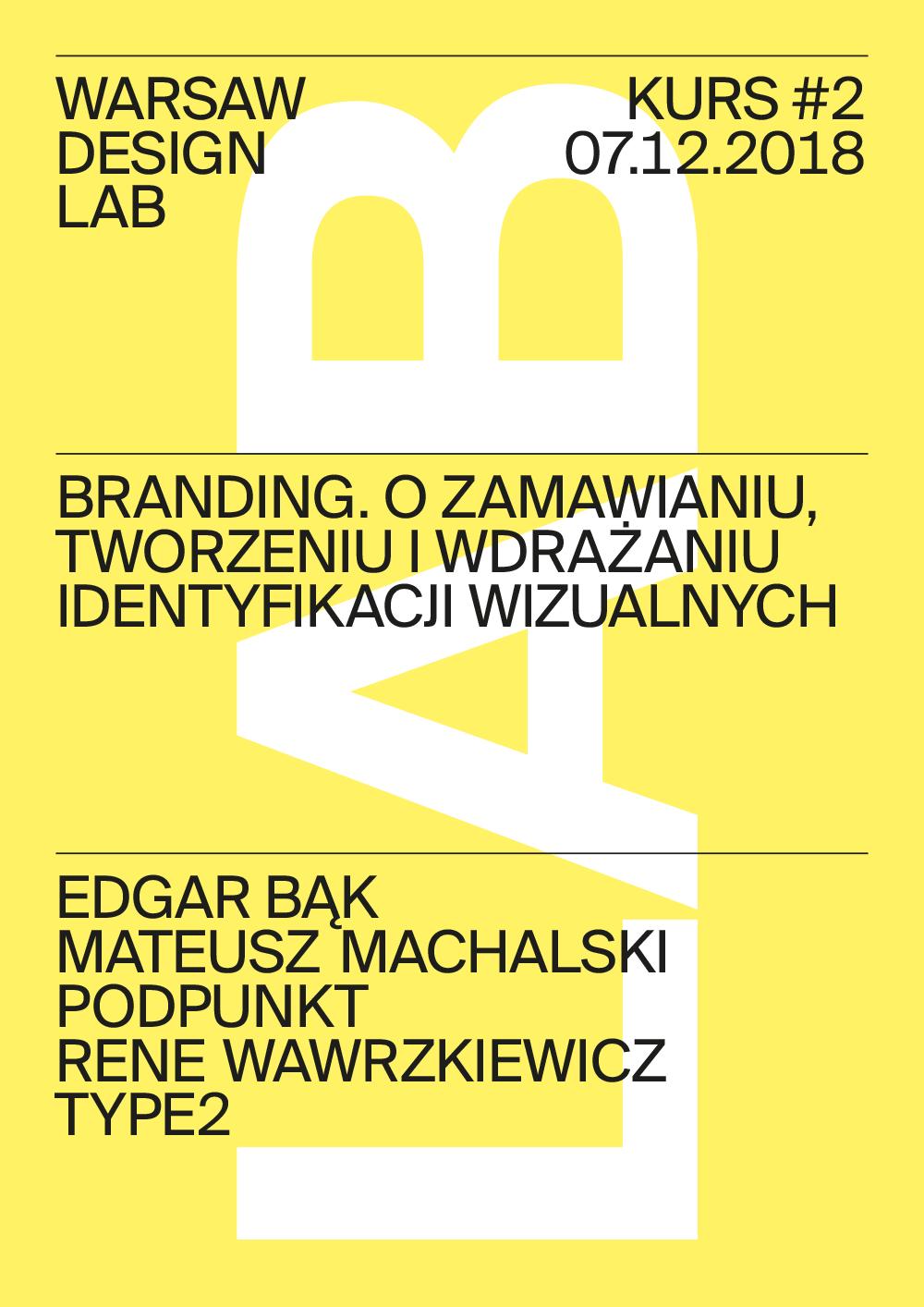 Warsaw Design Lab - Kurs
