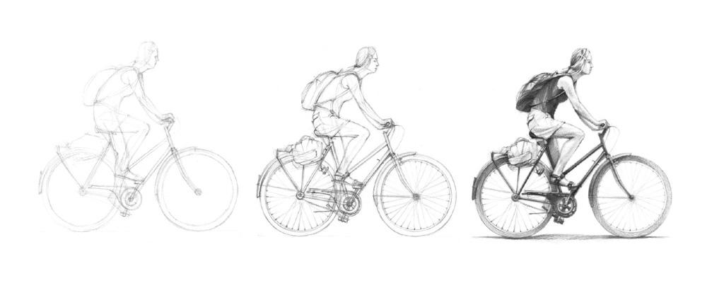 Jak narysować człowieka - etapy szkicowania