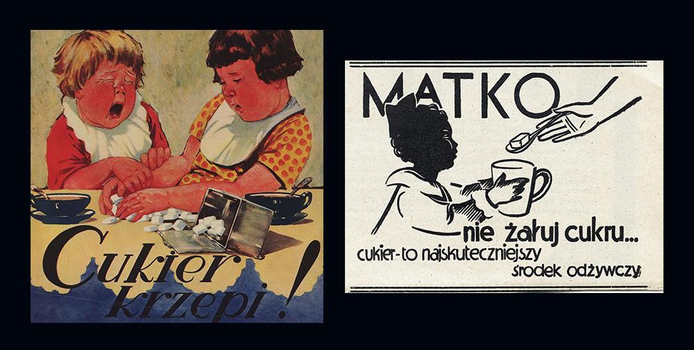 Plakaty Cukier Krzepi