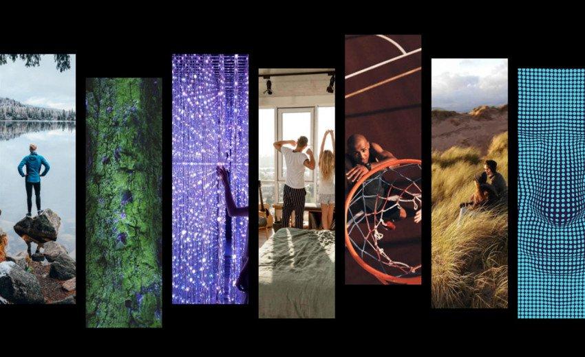Okładka artykułu Trendy wizualne 2021 — Symbole optymizmu, ukojenie w naturze, autentyczność