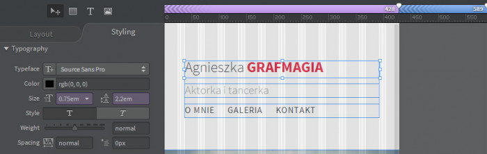 Responsywna-strona-internetowa-z-Adobe-Photoshop-i-Edge-Reflow-Strona-w-widoku-428-02