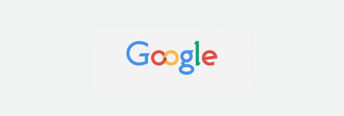 Propozycja logo Google stworzona przez Alexandre Namia