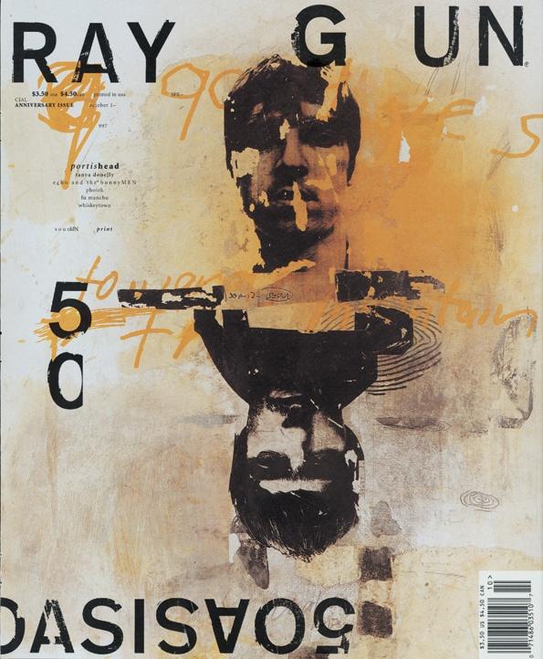 Okładka magazynu Raygun