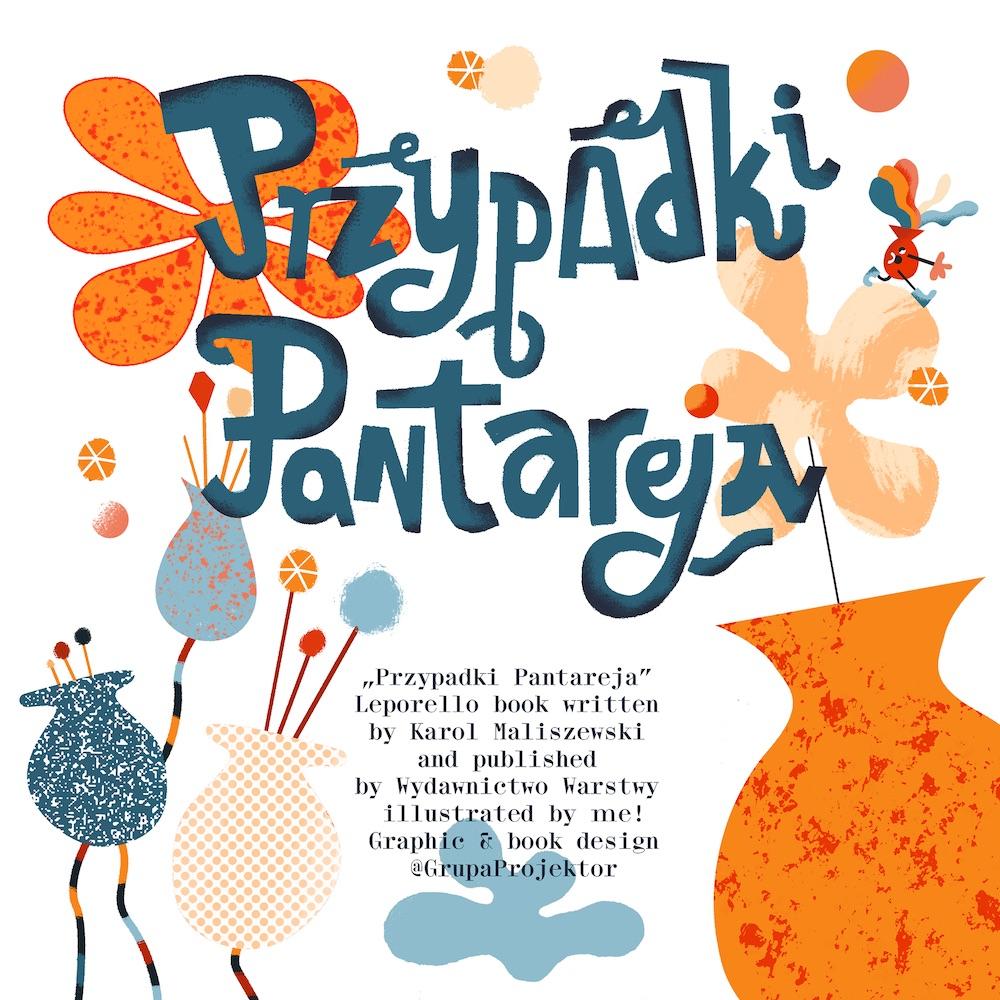 """""""PRZYPADKI PANTAREJA"""" - Leporello book,Karol Banach"""