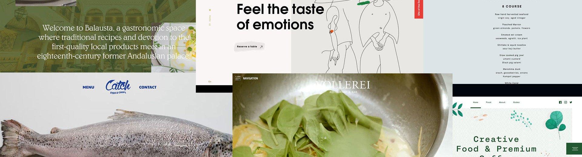 Okładka artykułu Inspirujące projekty stron restauracji — Dobre przykłady i ciekawe rozwiązania, które warto stosować