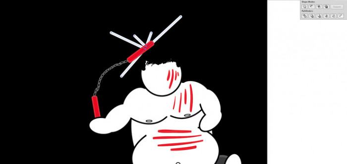 26 Plakat promujacy sztuki walki, wektor, illustrator