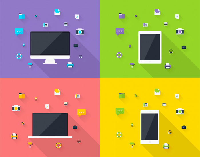 Flat-Technology-Backgrounds