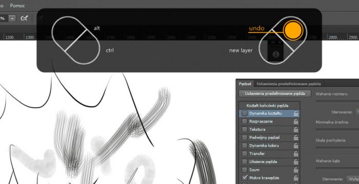 Wacom Intuos Art M 2015 Test i recenzja Pen and Touch przyciski funkcyjne