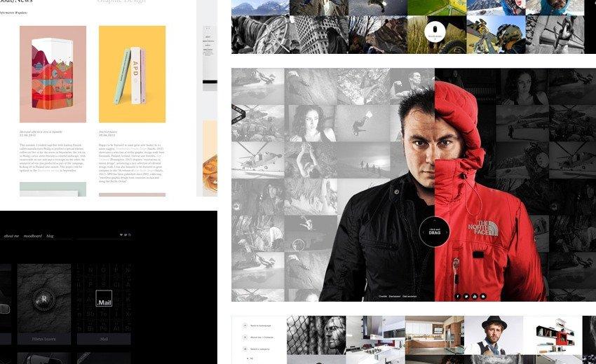 Okładka artykułu Inspirujące portfolia grafików — Przykłady ciekawych stron