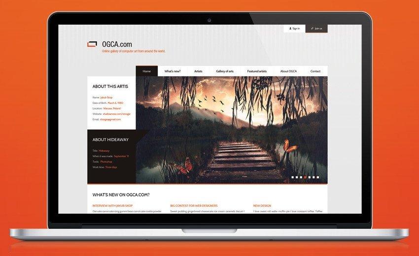 Okładka artykułu Tworzymy elegancki projekt graficzny galerii sztuki — Wykorzystując Adobe Photoshop