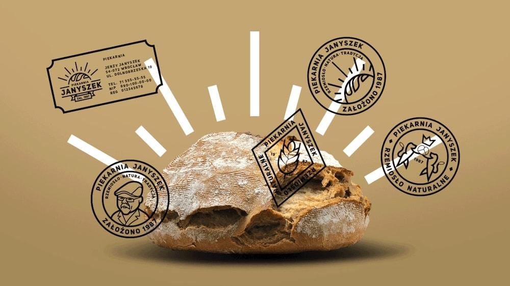 Janyszek Bakery - Branding, 404 TEARZZZ