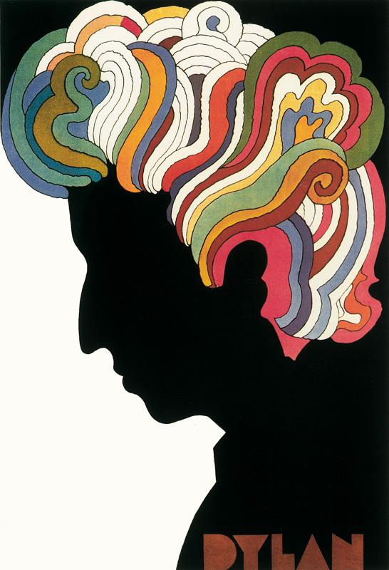 Plakat płyty Boba Dylana - Greatest Hits, 1967
