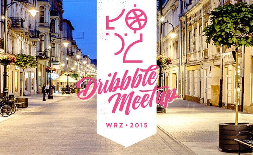 Okładka artykułu Łódź Dribbble Meetup — Zapraszamy na wydarzenie