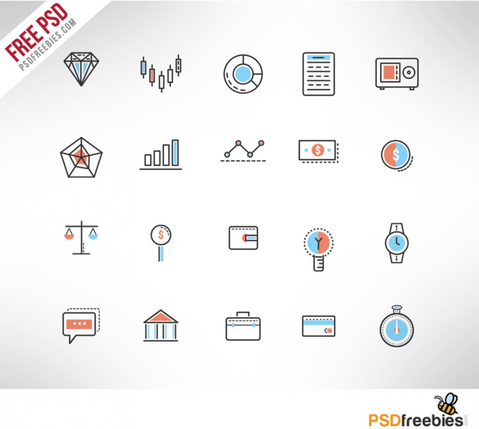 investment-doodle-icon-set-free-psd