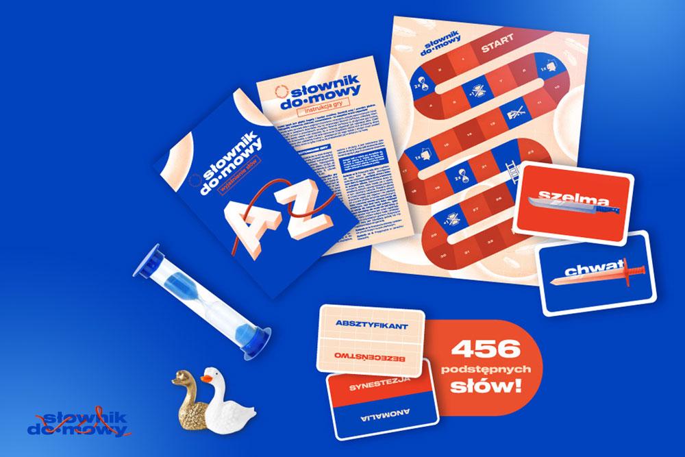 Projektowanie gry drużynowej– case planszówki Słownik do•mowy