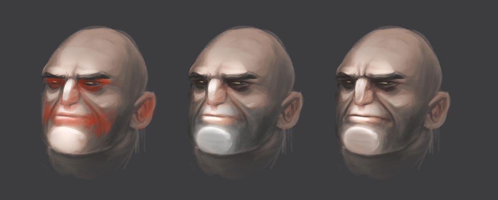 Nadawanie kolorystyki twarzy w digitalpaintingu