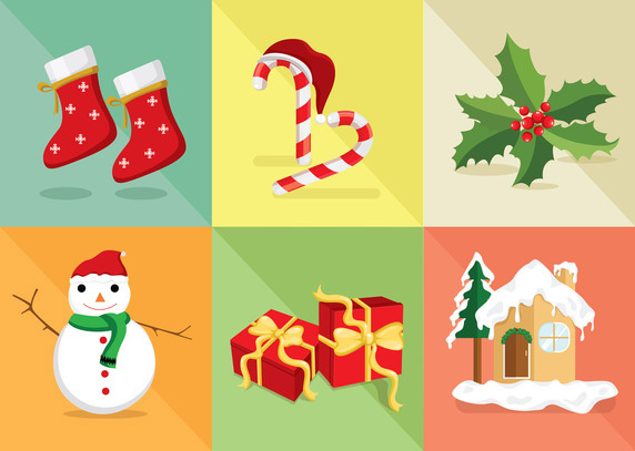 Christmas-Icon-Vector-Set