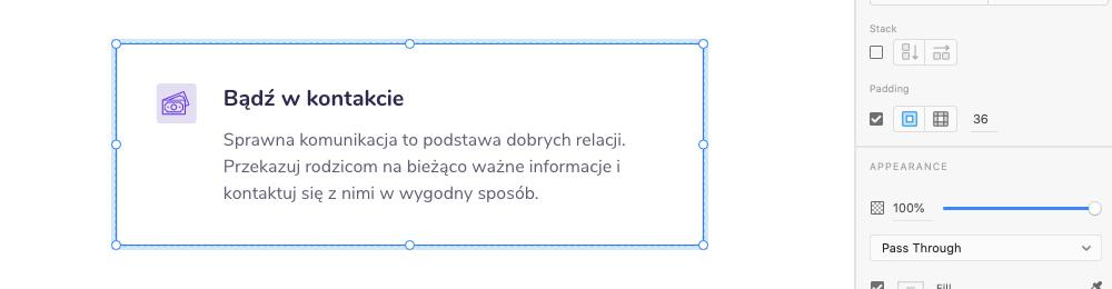 Padding w Adobe XD