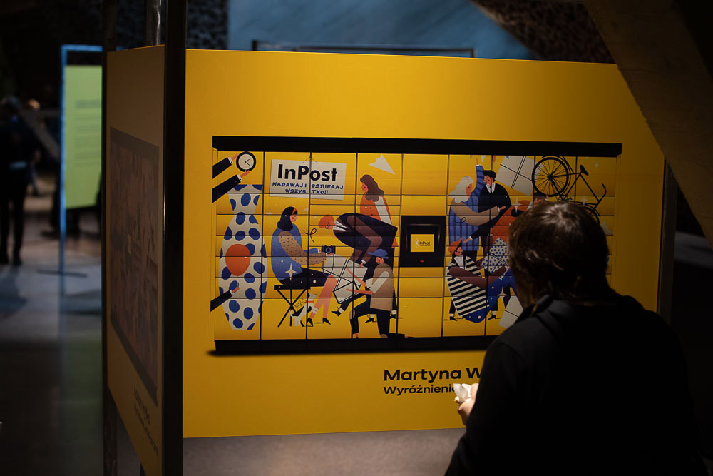 Wystawa ArtInPost na konferencji GrafConf 2019